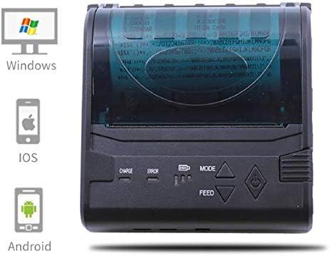 Impresora de recibos térmica móvil,sistema de puntos de línea ...