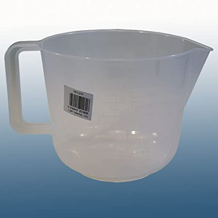 Balliihoo/® 1 litre 2 Pint Plastic Jug Home Brew /& Wine making