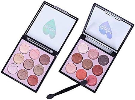 Lameila 9 Colores Paletas de Sombras de Ojos Tono de Brillo ...