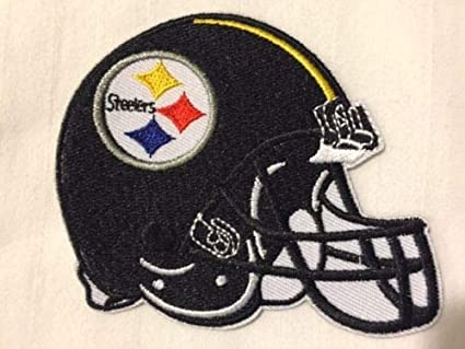 287ea4af06c Image Unavailable. Image not available for. Color  Pittsburgh Steelers  Helmet Logo NFL Football Hat ...