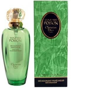 Tendre Poison Christian Dior - Tendre Poison Perfumed Deodorant Natural Spray 3.4 Oz