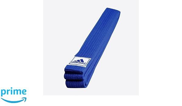 Amazon.com : Adidas Blue Club Belt - 6/300cm - BU : Sports ...