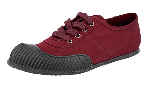 Prada Kvinners Sneaker 3e5838 Stoff Trenere 16zCg1