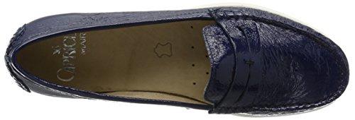 Mujer Azul Mocasines Para Caprice Patent ocean 24251 ZqUIxRwt