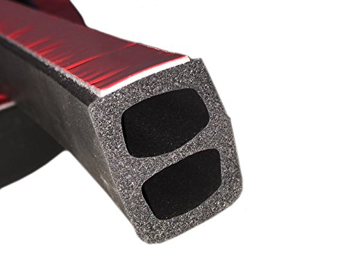 Front Rail Seal XL 5 1/2' (Weather Solutions)