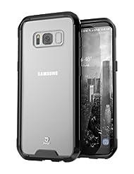 Jaagd JIA-03-SSJK Galaxy S8 Case, Hybrid Shock Modern, Slim N...