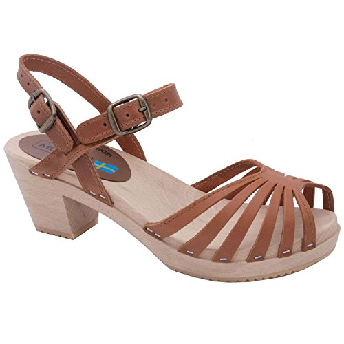Belle Sandals Womens Moheda Brown Leather 04STTwBq