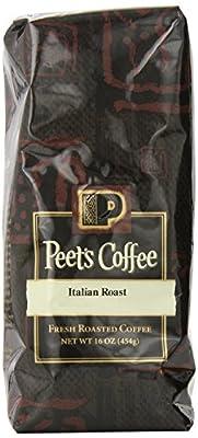 Peet's Coffee & Tea Italian Roast Whole Bean Coffee, 1 Pound