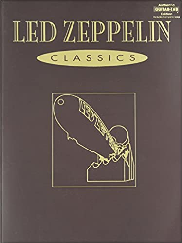 Guitar guitar tabs book : Amazon.com: Led Zeppelin -- Classics: Authentic Guitar TAB ...
