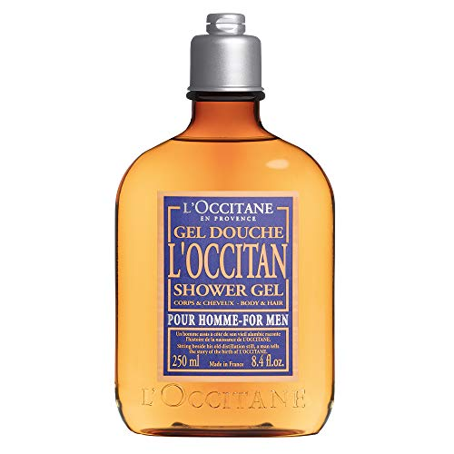 - L'Occitane Men's Fresh L'Occitan Shower Gel for Body & Hair, 8.4 Fl Oz