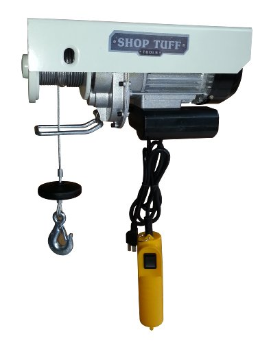 Shop Tuff STF-5511EH Electric Cable Hoist (Compact Electric Hoist)