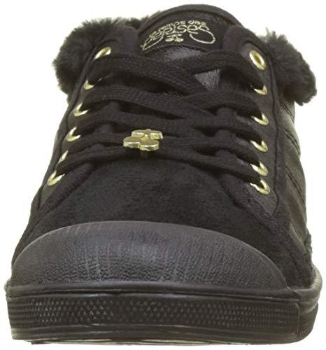 Zapatillas Black Mujer Fur Cerises Negro Black fur Para Le Basic Des 02 Temps U7HZwyqxSX