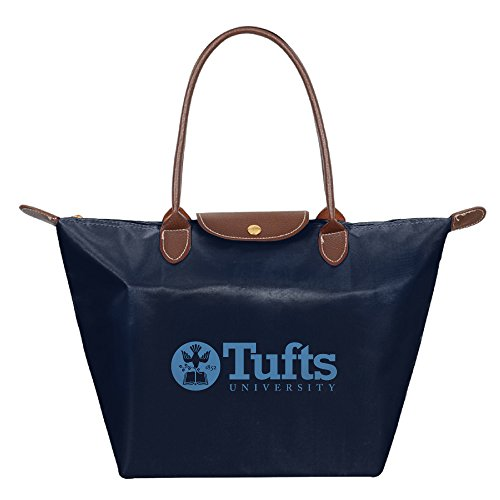 Tufts University Medford Massachusetts Waterproof Foldable Tote Bags Shopping Beach Shoulder Handbags Purse Tote Shoulder Bag - Shopping Salem Massachusetts