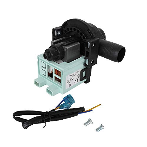 Price comparison product image WD-5470-09 Washing Machine Drain Pump for Haier PCX-30L V12624- GWT450AW HLP23E HLP22P RWT150AW RWT350AW XQB5010A GWT460AW XQB6091AF XQB6091BF RWT360BW GWT460BW and more