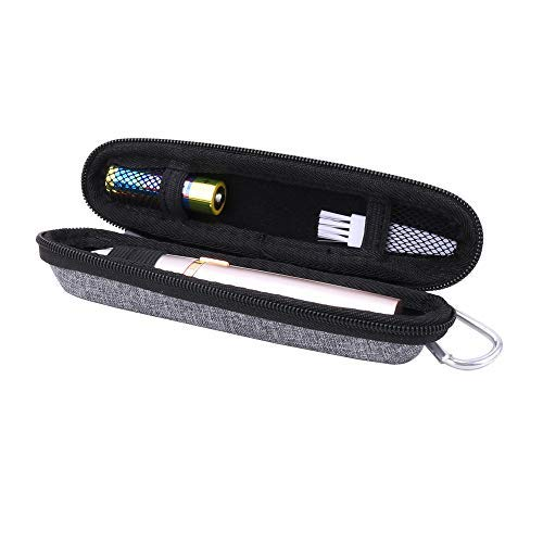 Aenllosi Hard Carrying Case for Finishing Touch Flawless Brows Eyebrow Hair Remover (grey)
