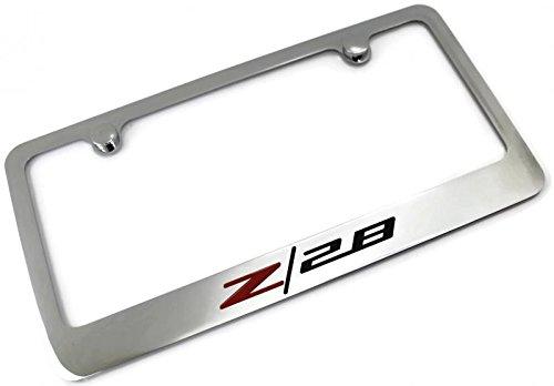 z28 license plate frame - 1
