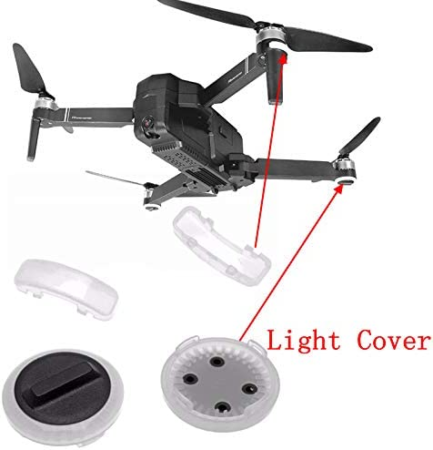 Xiaopyo Quadcopter Spare Parts Light Cover Landing Leg Compatible with SJRC F11 GPS Drone F24 GPS Quadcopter Drone Accessories F11 Pro