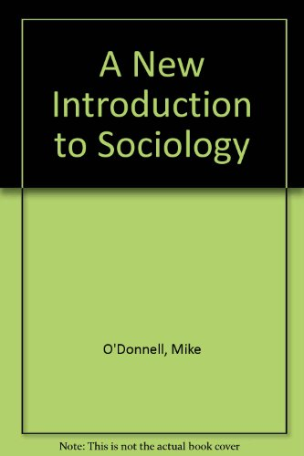 A New Introduction to Sociology