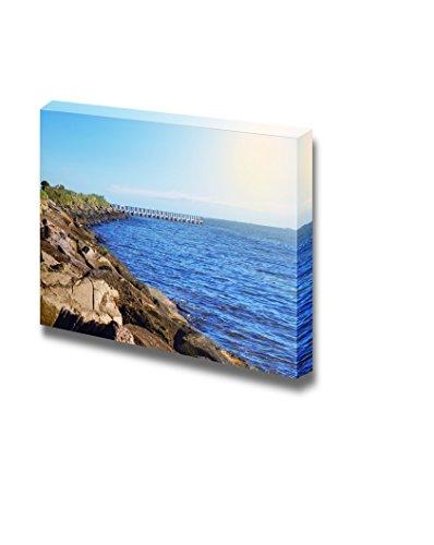 Beautiful Scenery Landscape Sea Coast on Sunny Day in Melbourne Australia Wall Decor ation