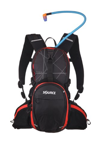 Mochila de Ciclismo Talla 2 L Source Pulse Color Negro