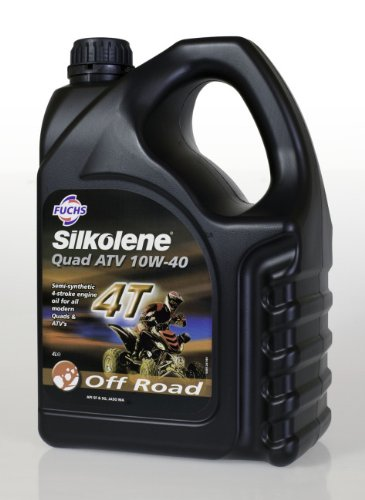 Silkolene QUAD ATV 10W-40 Semi Synthetic 4T Engine Oil - 4 Litres Fuchs Silkolene