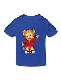 Kids Toddler Daniel Tiger's Neighborhood Little Boys Girls T Shirts RoyalBlue Size 3 Toddler