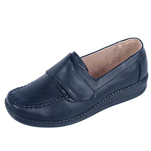 Slipper Halbschuhe für Damen komfortables Fußbett (1604w)