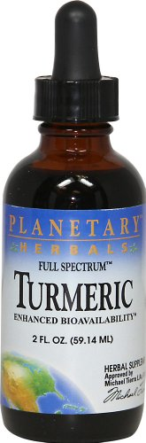 Full Spectrum Turmeric Planetary Herbals 2 oz Liquid