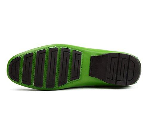 Pelle nabuk Verde UK7 casual Scarpe Scarpe da Verde Colore HWF Scarpe 5 dimensioni pelle Uomo EU42 in da in uomo donna Rt0U0O8q