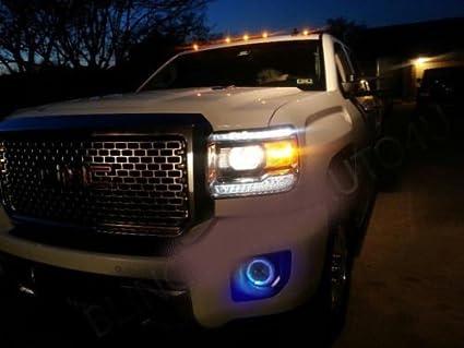 Amazon com: Blue Halo Fog Lamps Driving Light Kit for 2007