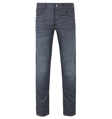 Replay Thyber Dark Grey Resinplus+ Slim Fit Jeans