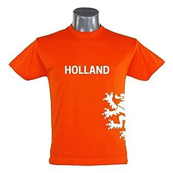 1b41578667d8 EUR Shirt T-Shirt Holland Löwe Herren orange Gr. S - 3XL Netherlands  Niederlande