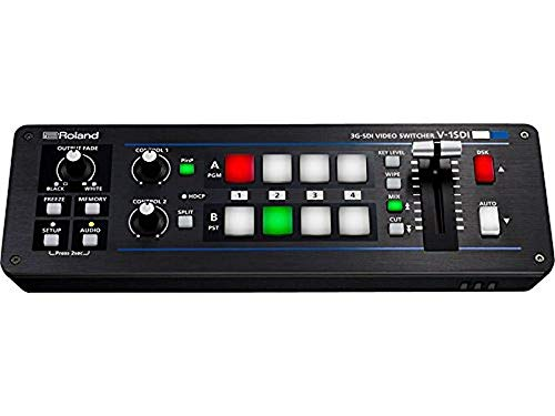 Roland V-1SDI 3G-SDI Video Switcher (4 Channel Video Mixer)