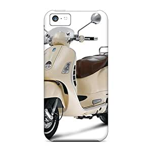 New Snap-on Charming YaYa Skin Case Cover Compatible With Iphone 5c- Vespa