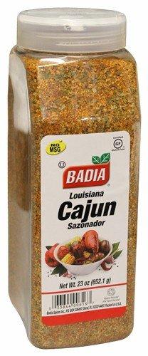 Badia Louisiana Cajun Seasoning Blend powder. Large container 23 oz ()