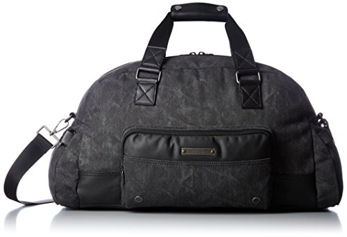 Price comparison product image Diesel Men's Superrgear Touch Gear Duffle Bag, Treated Black/Black