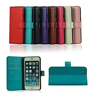 DD 4.7 Inch PU Wallet Leather Case for iPhone 6 (Assorted Colors) , White
