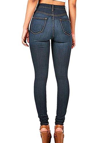 HAHAEMMA Bleu Femme HAHAEMMA HAHAEMMA Jeans Jeans Bleu HAHAEMMA Femme Jeans Femme Jeans Bleu ZwZrqBHt