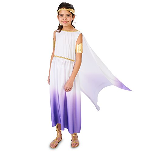 Purple Passion Greek Goddess Child Costume M (Goddess Costume For Kids)