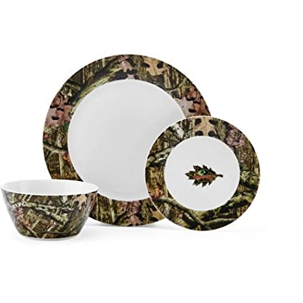 Mossy Oak Break-Up Infinity 12-Piece Dinnerware Set | Casual 12-piece  sc 1 st  Amazon.com : casual dinnerware sets for 12 - pezcame.com