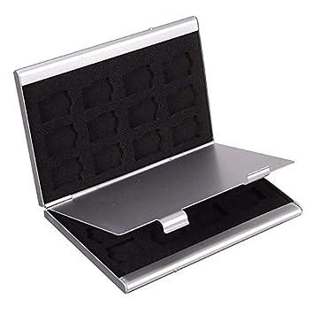 Portatarjetas de identificación Metal Tarjeta de Memoria MMC Caja ...
