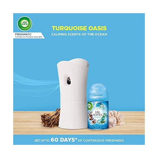Airwick Freshmatic Refill Life Scents Turquoise Oasis - 250 ml Perfumes