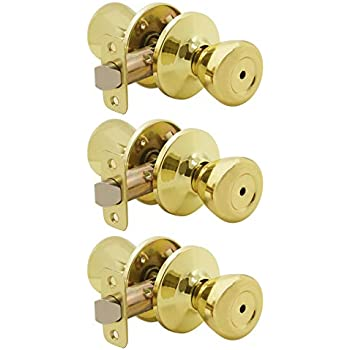 Goldentimehardware privacy door knobs interior door locks - Bedroom door knobs with key lock ...