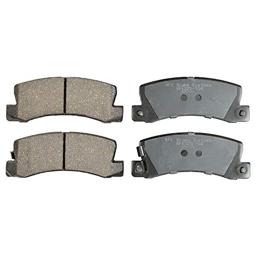 KFE Ultra Quiet Advanced KFE325-104 Premium Ceramic REAR Brake Pad Set