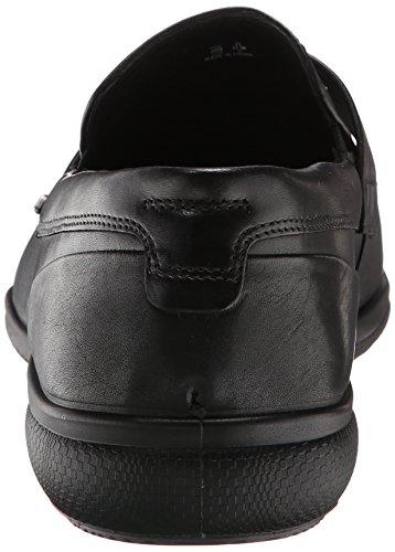 Ecco - Grenoble, scarpe derby  da uomo, Nero (BLACK1001), 45 EU