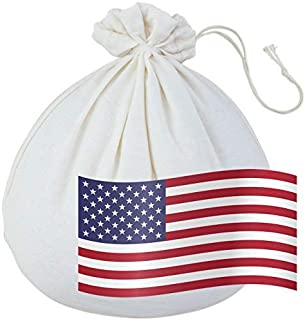 product image for EcoPeaceful - Looser Weave - USA-GROWN Organic Nut Milk Bag - ALL 100% Organic Cotton (Fabric, Stitches, Drawstring & Loop) w/Silicone Band for Easy & Tight Closing. Made in USA