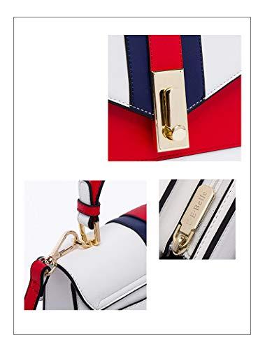 hombro para Bolso Zoomlie Rosso Talla única al mujer 6Ex64n