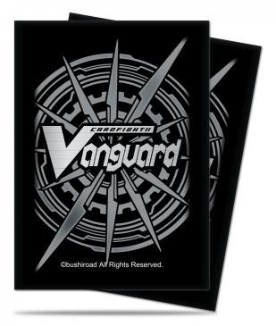 Cardfight!! Vanguard Silver Card Back Small Size Deck Protector Sleeves