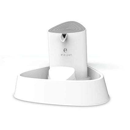 GLMAMK Llevó el dispensador de Agua del Animal doméstico de la lámpara, Fuente de Agua