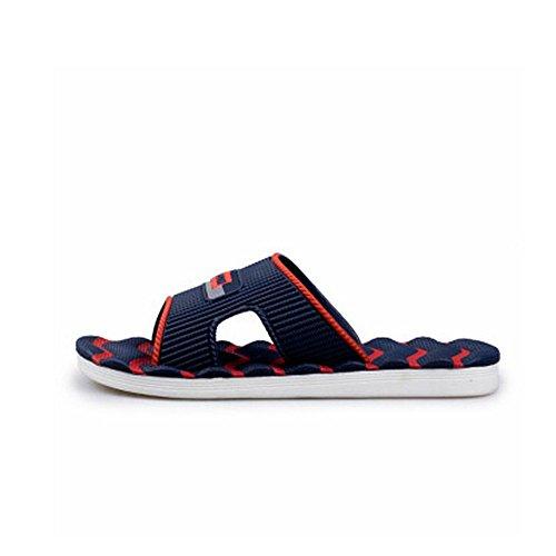 spiaggia impermeabili uomo uomo 5 da da in Sandali Scuro Blu pelle e 27 da 25 antiscivolo Pantaloncini Melodycp estivi Sandalo uomoCasual cm da wPapqp7